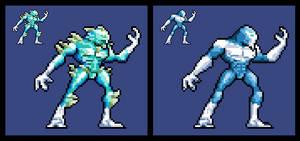 Killer Instinct 2013: Glacius (Sprite)
