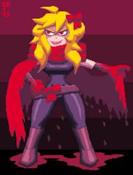 Scarlet Hood (redesigned) by DangerMD