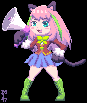 Nyaa-chan (no background) by AKA-Perry