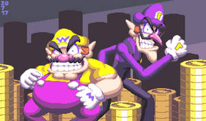 Wario and Waluigi, the good brothers