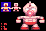Kinnikuman - Super MUSCLE style (Sprite) by DangerMD