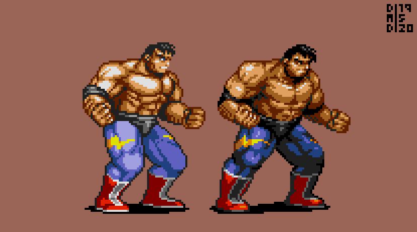 Max Thunder (SOR3 style)