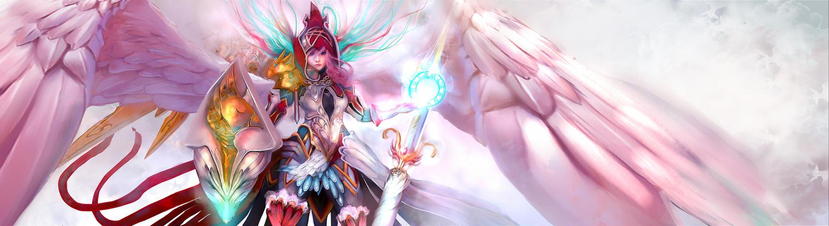 Queen Chocobo - Lightning - by Fanelia-Art
