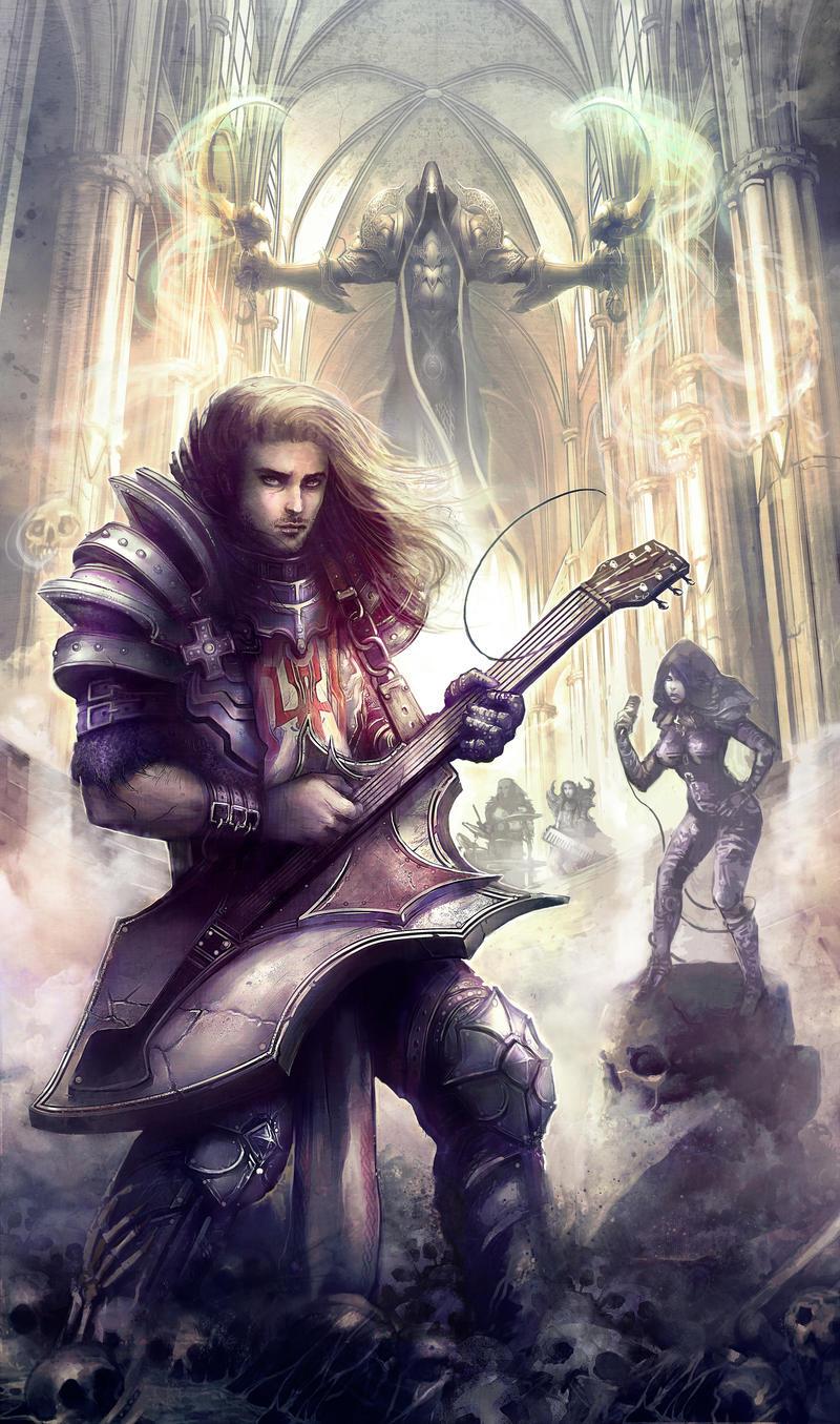 Diablo Reaper of Sound by Fanelia-Art