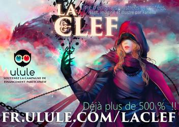 Ma campagne Ulule en cours : La Clef by Fanelia-Art