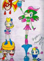 The Bomber Girls by ShadowLifeman