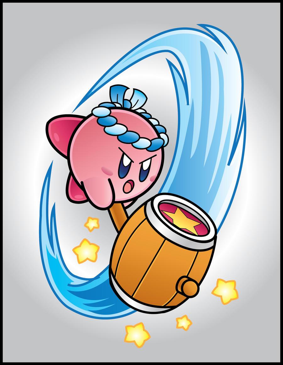 Kirby Vector: Hammer Kirby by DPghoastmaniac2