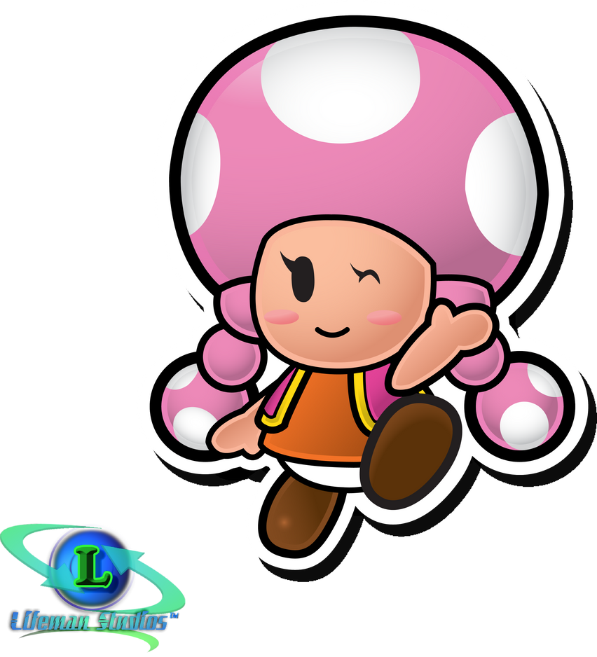 Toadette - Paper Mario: TTYD by DPghoastmaniac2
