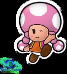 Toadette - Paper Mario: TTYD