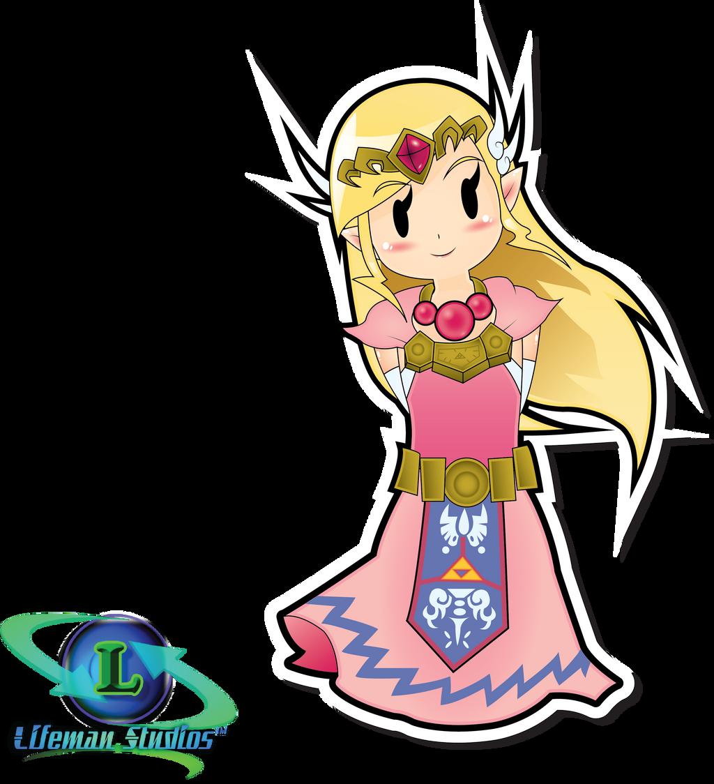 Paper Zelda by DPghoastmaniac2