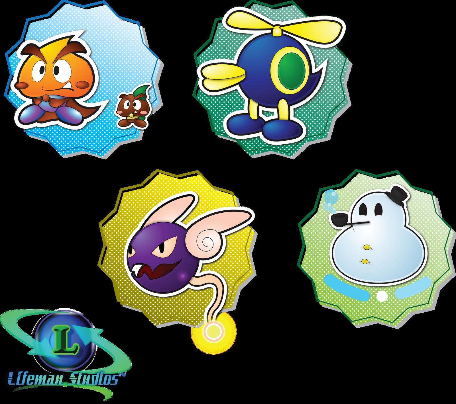 Paper Mario Partner Compilation 9 by DPghoastmaniac2