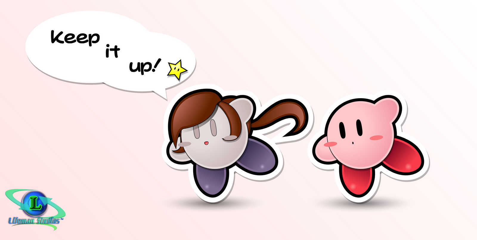Paper Kirby Training Time by DPghoastmaniac2