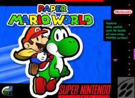 Paper Mario World by ShadowLifeman