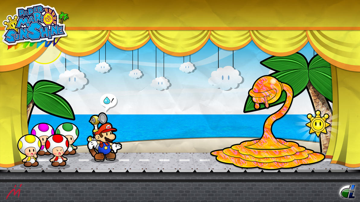 Paper Mario Sunshine - Prologue by ShadowLifeman