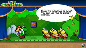Paper Mario World - Yoshi's Island 2 by ShadowLifeman