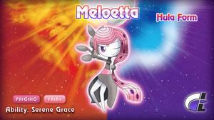 Hula Form Meloetta