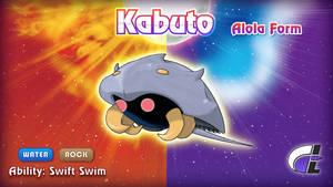 Alola Form Kabuto by ShadowLifeman