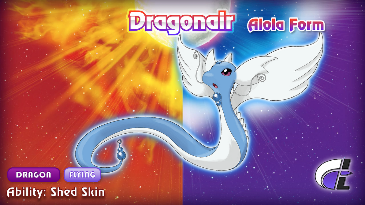 Alola Form Dragonair by ShadowLifeman on DeviantArt