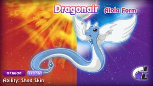 Alola Form Dragonair by ShadowLifeman