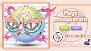 Mega Masquerain by ShadowLifeman
