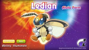 Alola Form Ledian by ShadowLifeman