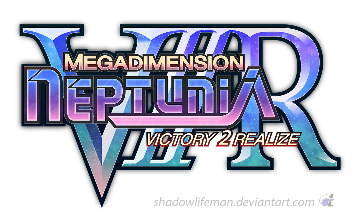 Megadimension Neptunia VIIR - English logo mock-up by ShadowLifeman