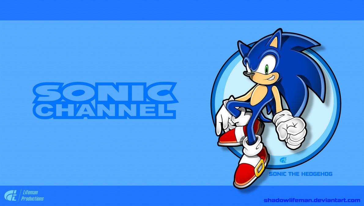 Modern Sonic - Sonic Channel style by ShadowLifeman