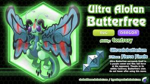 Comm - Ultra Alolan Butterfree by ShadowLifeman
