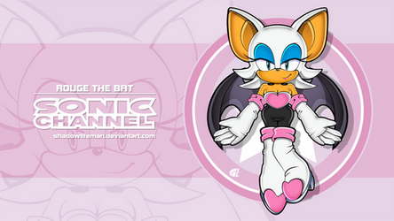 Rouge the Bat - Sonic Channel style by ShadowLifeman