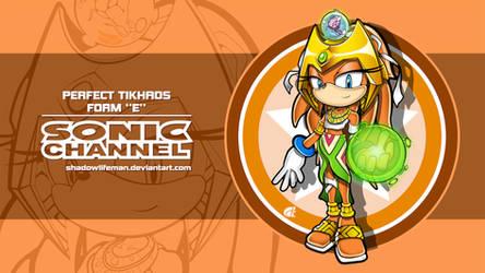 Perfect Tikhaos - Form E - Sonic Channel style by ShadowLifeman