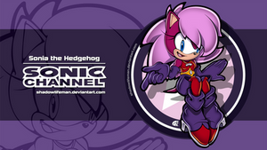Sonic Channel - Sonia the Hedgehog