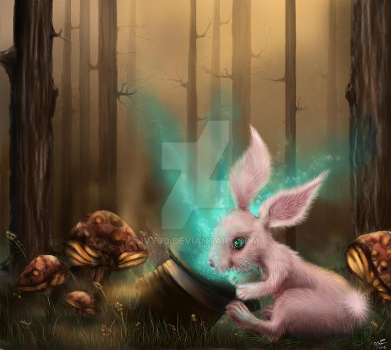 анимация на телефон волшебный лес № 405 бесплатно