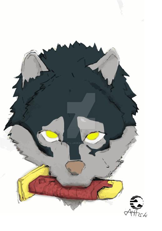 Wolf Helt by Arthur-l-jackson