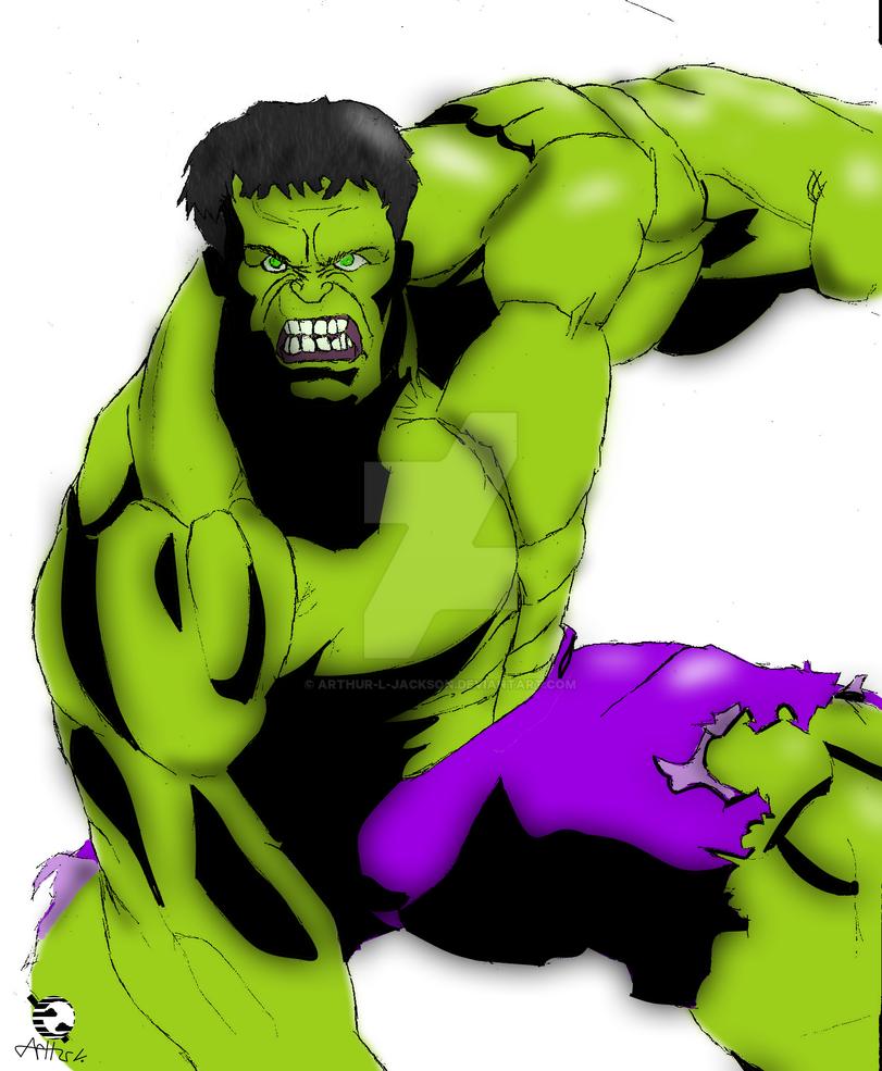 Hulk by Arthur-l-jackson