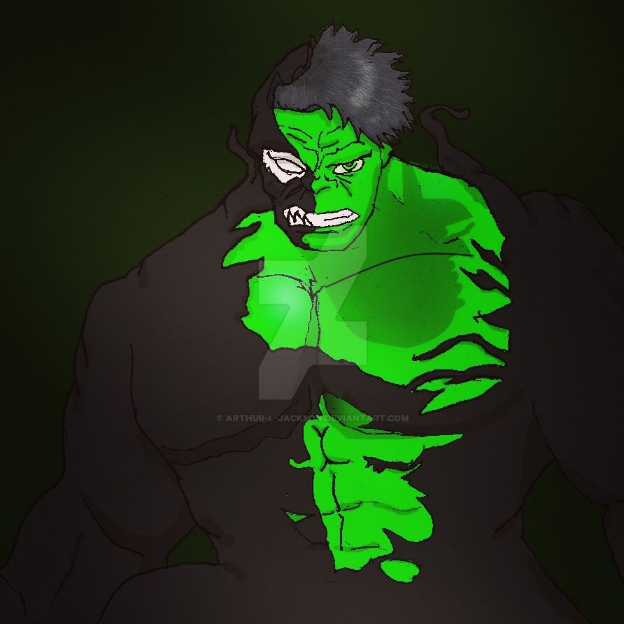 Venom Hulk by Arthur-l-jackson