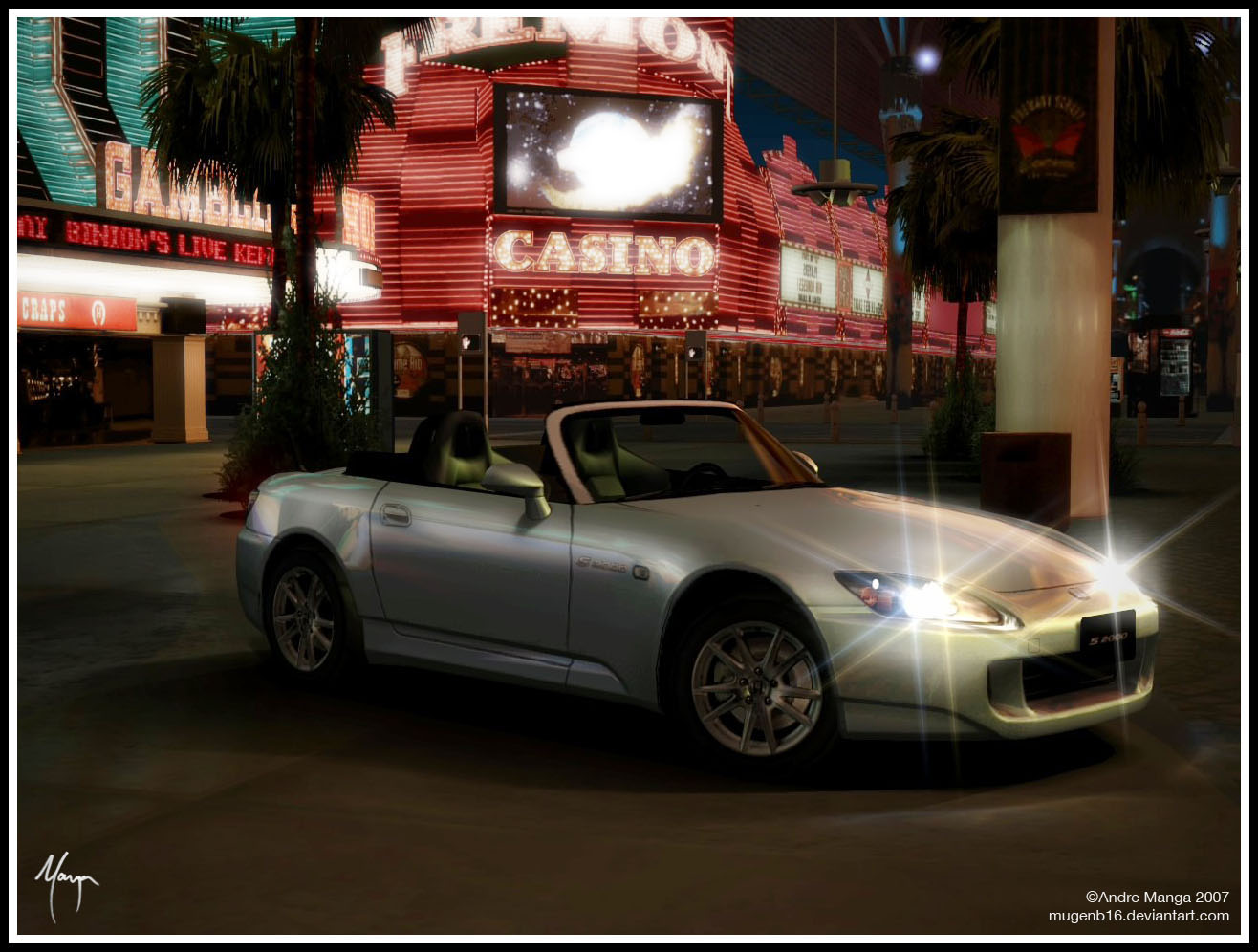 Stock S2000 Las Vegas by MugenB16