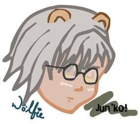 Jun'ko by theWolfie