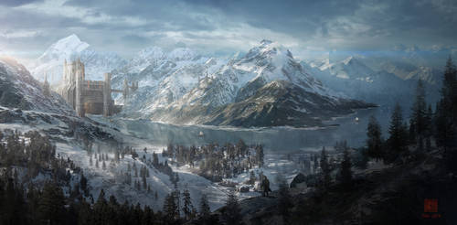 Snow fortress by kuroe702