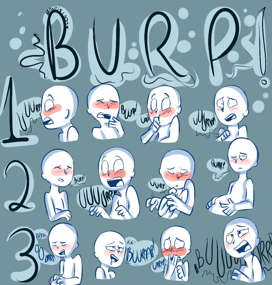 Burping meme by FamineInsect
