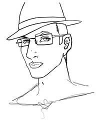 Art Meme: Day 1: Self Portrait