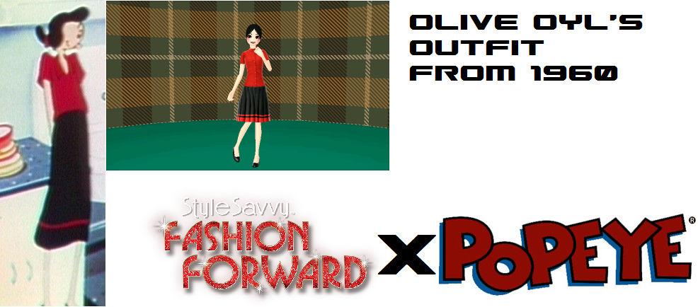 Olive Oyl S Outfit In Style Savvy Fashion Forward By Jesus00cruz On Deviantart