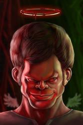 Dexter caricature