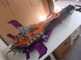 Lego Battleship Halberd by TheAllSeeyingGuy