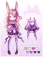 [Gift/Characterdesign/Fanart?!] Mirille by Shadow4kuma