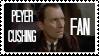 Peter Cushing Fan Stamp by fandom-in-reverse