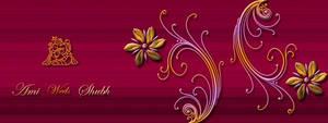Wedding Card Envelope- ganesha