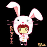Smriti - The Bunny Girl.. :D by Misty-Lane