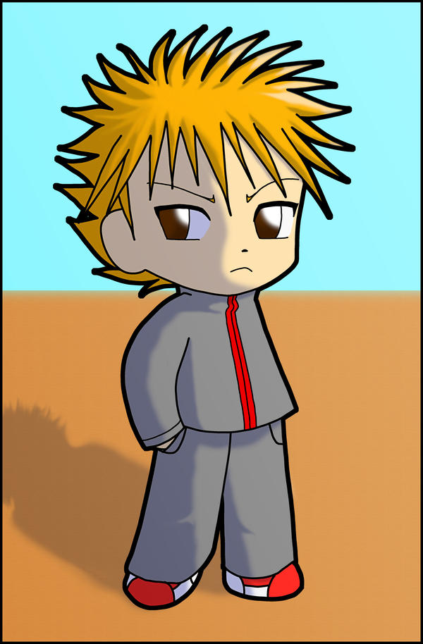 Chibi Ichigo by ~Anime-Wolf-08 on deviantART