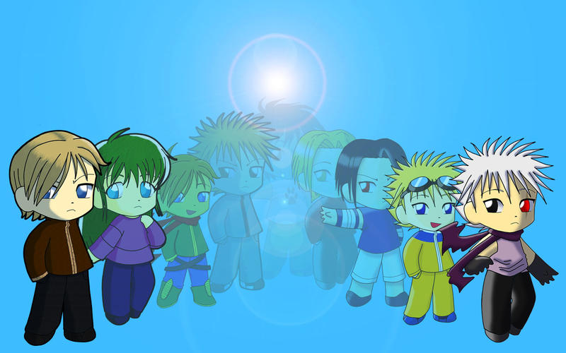 Chibi Montage by ~Anime-Wolf-08 on deviantART