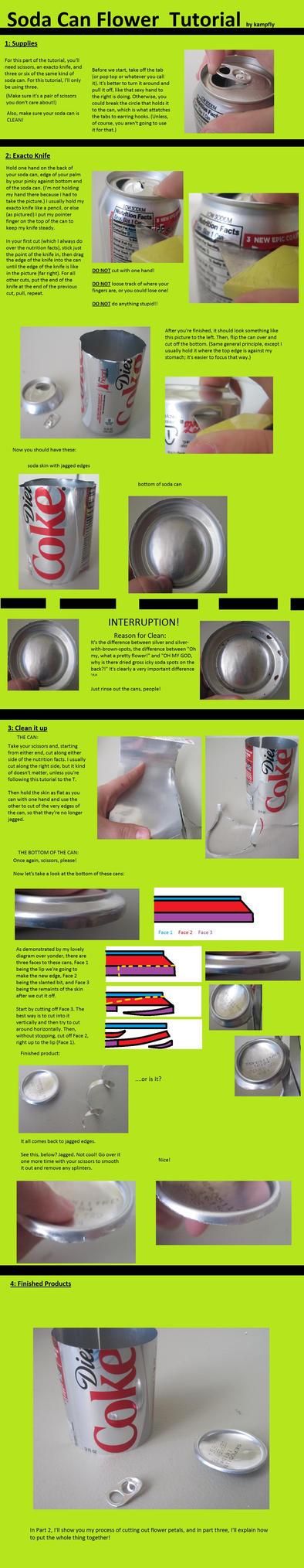 Soda Flower tutorial pt 1 by kampfly